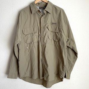 Alpine Design long sleeve tan hiking shirt